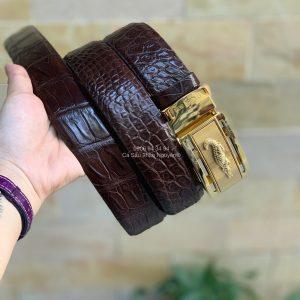 Thắt lưng nam da cá sấu Thảo Nguyên